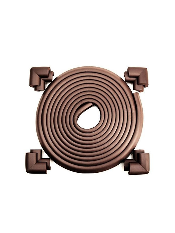 Mombella Safety Edge Corner Cushion Guard - Coffee