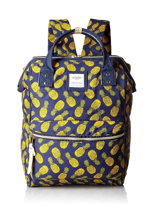 anello® Rucksack Navy Pineapple Pattern