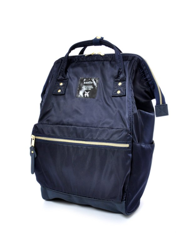 anello® High Density Nylon Cap Backpack - Navy