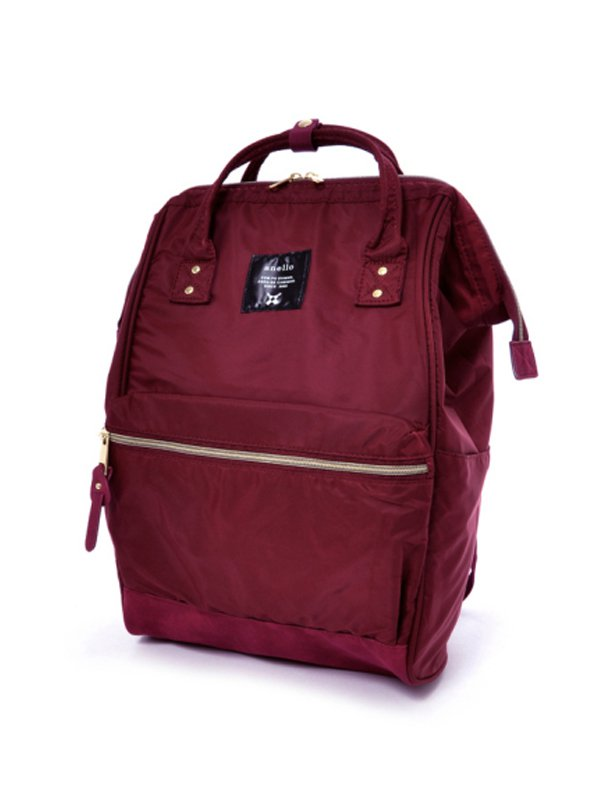anello® High Density Nylon Cap Backpack - wine