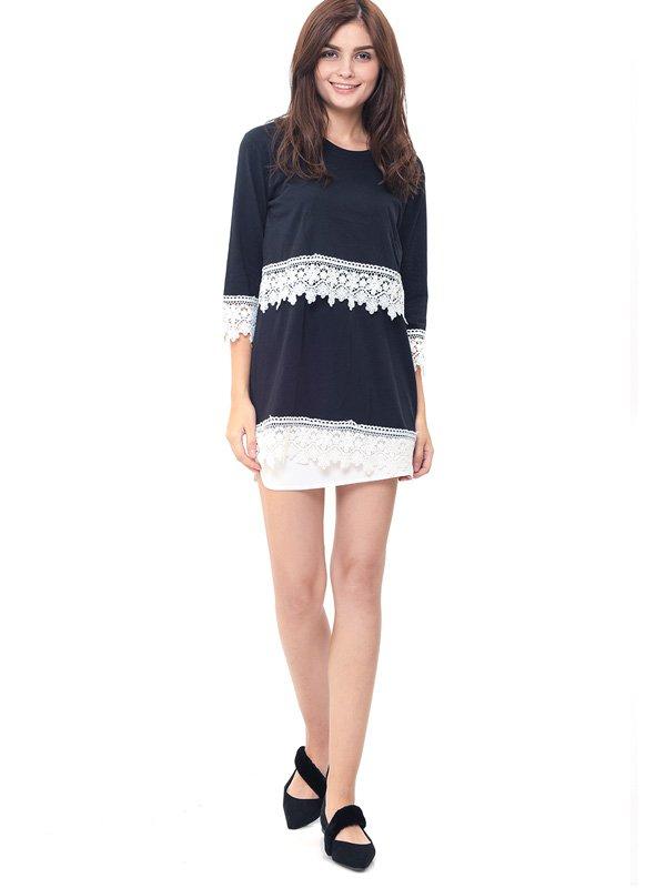 Lace Black Nursing Top Baju Ibu Hamil & Menyusui