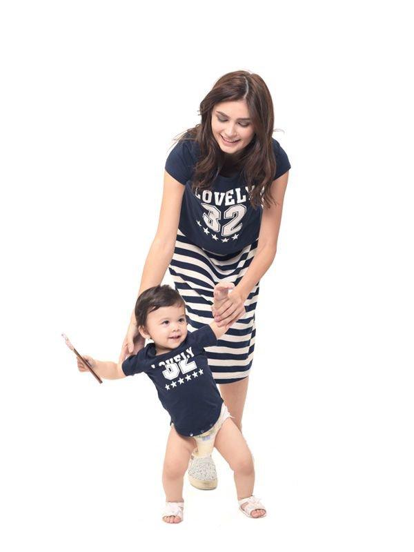 2 Piece Number 32 Maternity & Nursing Dress Baju Hamil Menyusui