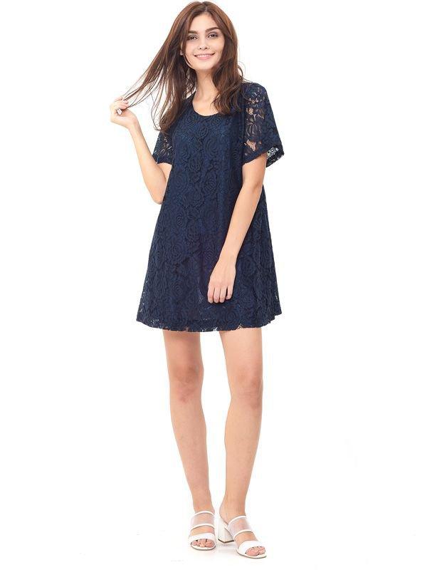 Full Lace Nursing Dress