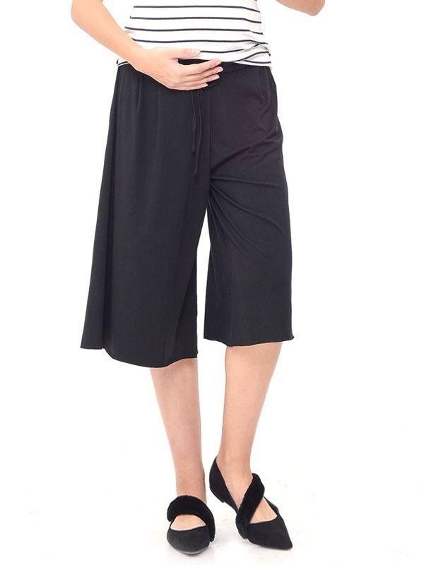 Cotton Wide Leg Trouser Celana Pendek Ibu Hamil