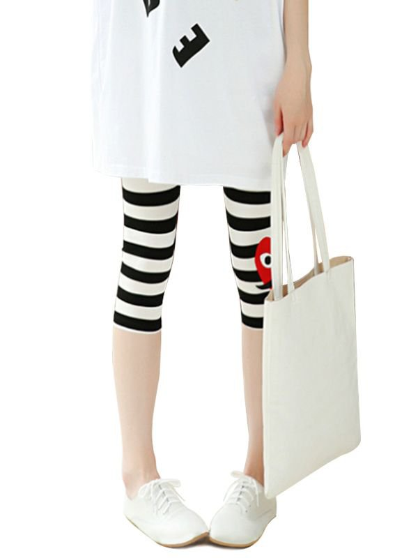 Hearts Maternity Leggings