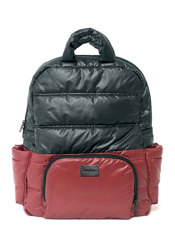 New York Backpack Tas Ransel Popok Bayi - Bordeaux