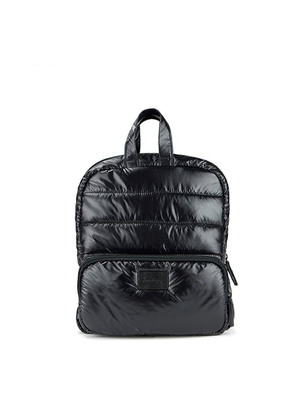 7 A.M. Mini Backpack Tas Ransel Anak - Black