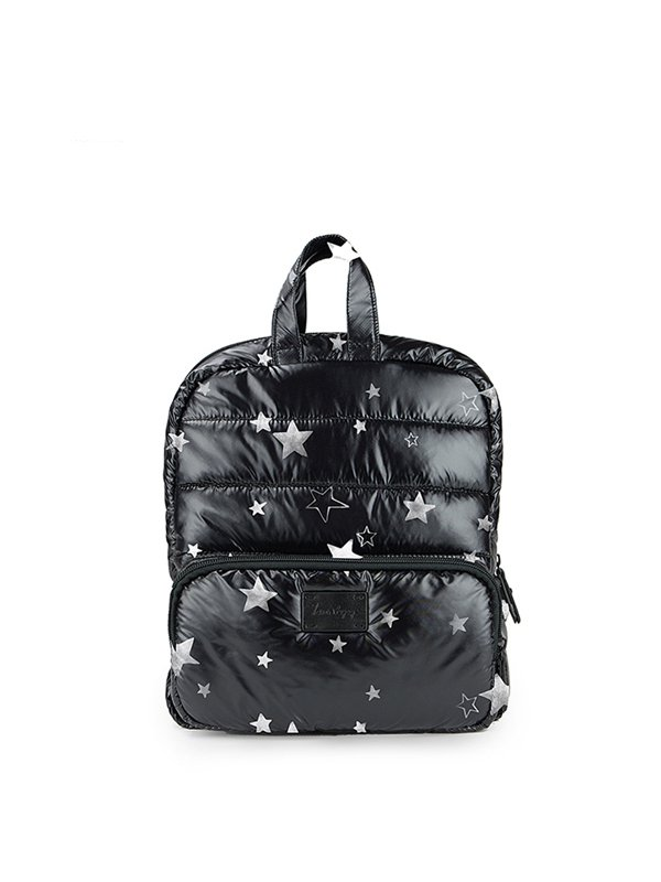 7 A.M. Mini Backpack Tas Ransel Anak - Black Star
