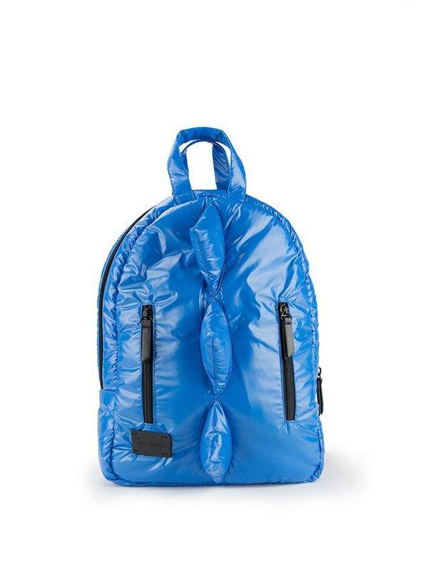 7 A.M. Mini Dino Backpack Tas Ransel Anak - Electric Blue