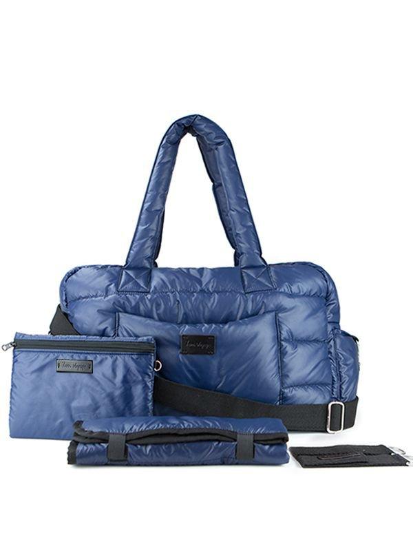 7 A.M. Soho Bag Diaper Bag Tas Popok Bayi - Navy