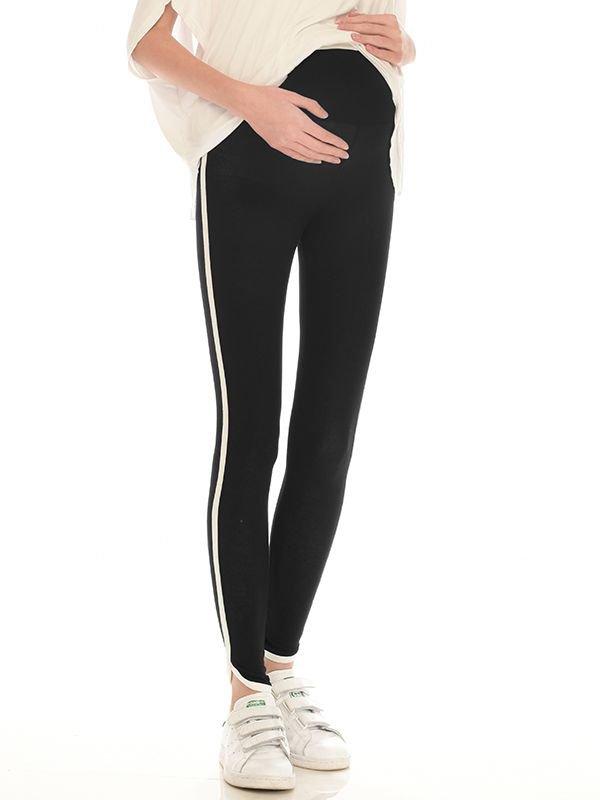 Side Stripe Leggings Celana Ibu Hamil