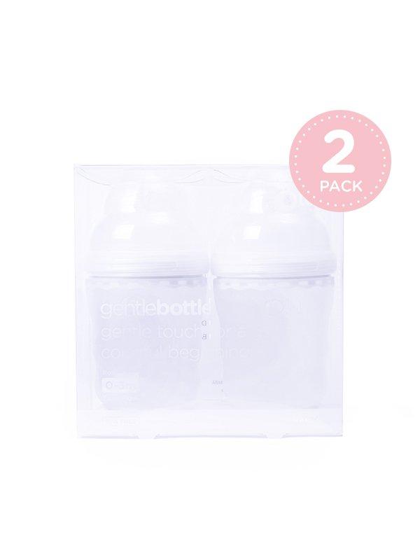 [OLA BABY] GentleBottle Botol Susu Anak Bayi -Frost 8oz (2PK)