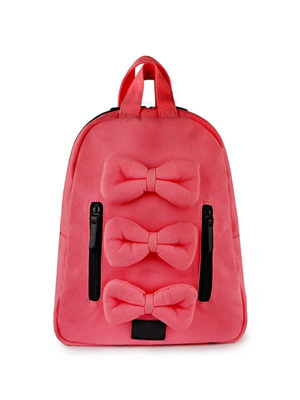 7 A.M. Mini Bows Cotton Backpack Tas Ransel Anak - Valentine