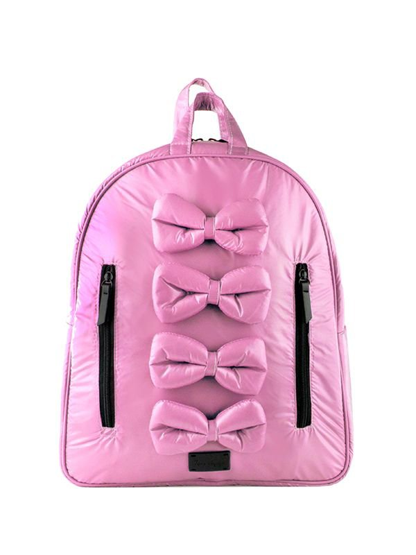 7 A.M. Midi Bows Backpack Tas Ransel Anak - Blush