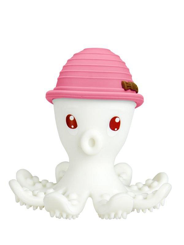 Mombella Octopus Teether Toy Doo Mainan Gigitan Bayi - Pink