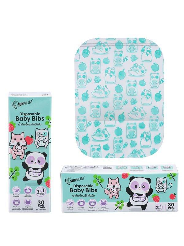 SUNMUM - Disposable Baby Bibs - Bibs Sekali Pakai