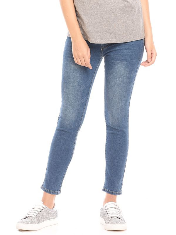 Over The Bump Maternity Skinny Jeans Celana Jeans Hamil