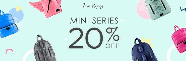 Promo Discount 20% 7AM Mini Series Promo Picture