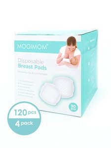 4 Pack Disposable Breastpad