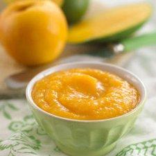 Resep MPASI: Puree Apel dan Mangga (6 bulan keatas)