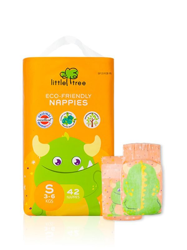 Little Tree Nappies Monster (S)
