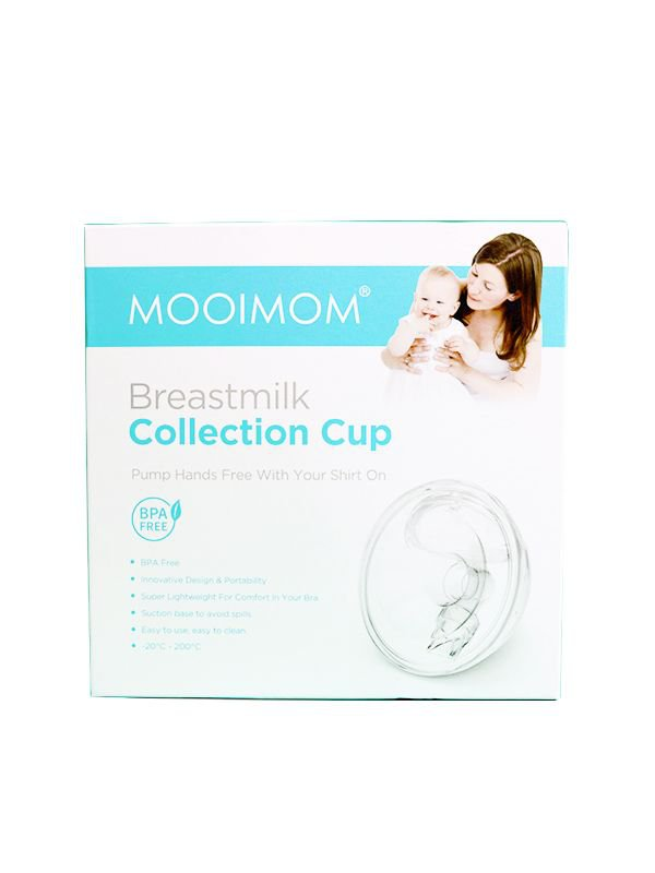 MOOIMOM Handsfree Breastmilk Collection Cup-Alternatif Penampung ASI