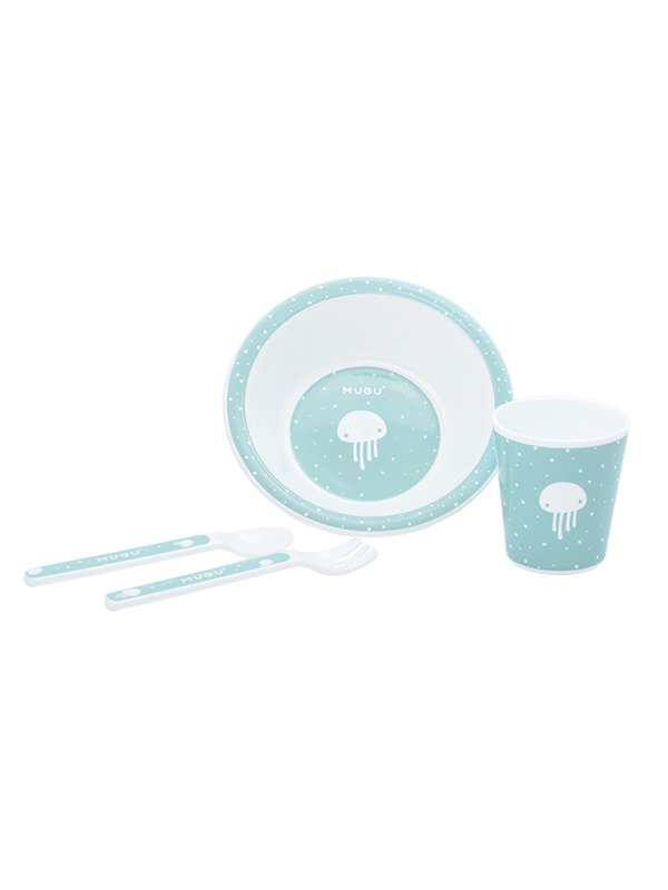 MUGU® Kids Dinnerware Set (4-Piece)
