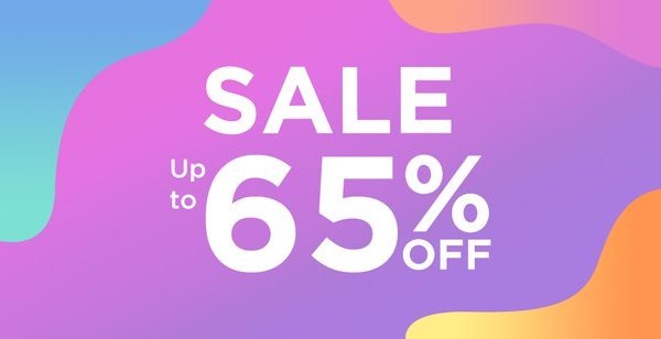 Clearance Sale up to 65% Promo Picture