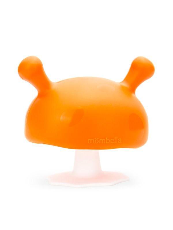 Mombella Mushroom Soothing Teether Mainan Gigitan Bayi - Orange