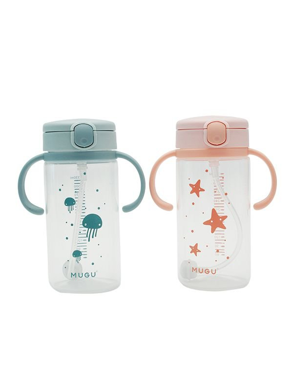 MUGU® Training Bottle 330ml - Botol Minum Anak