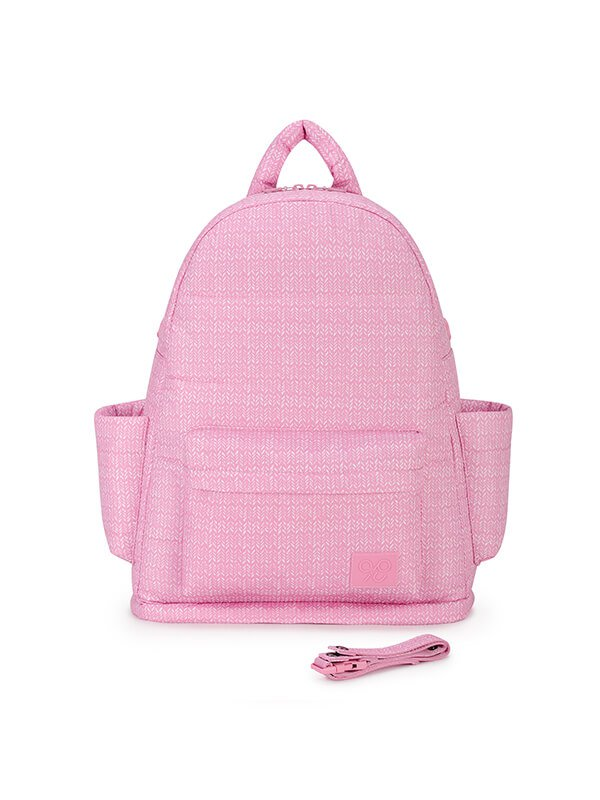 CIPU Airy Backpack Eco Knitted Rose L