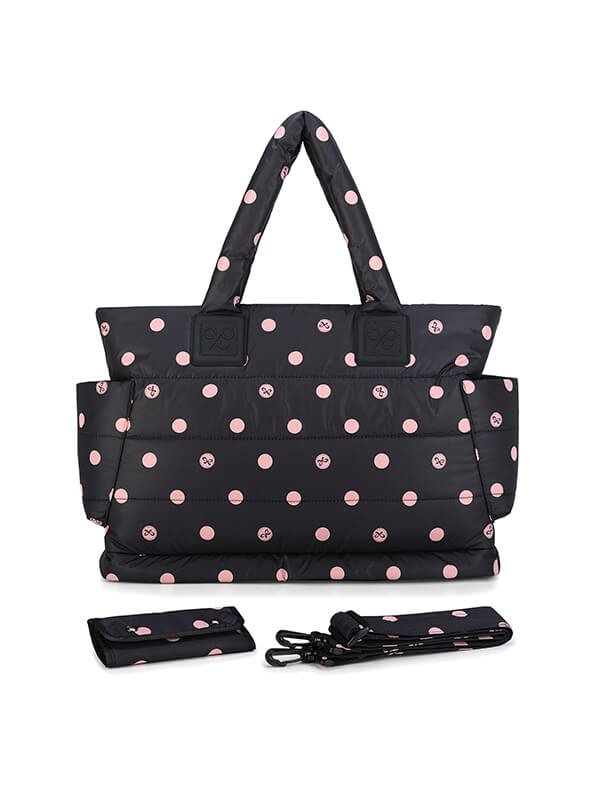 CIPU Airy Tote Bag Eco Pink Bubble L