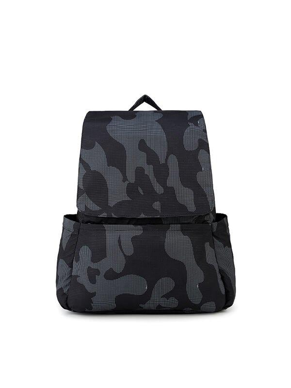CIPU Light Backpack Black Camouflage L