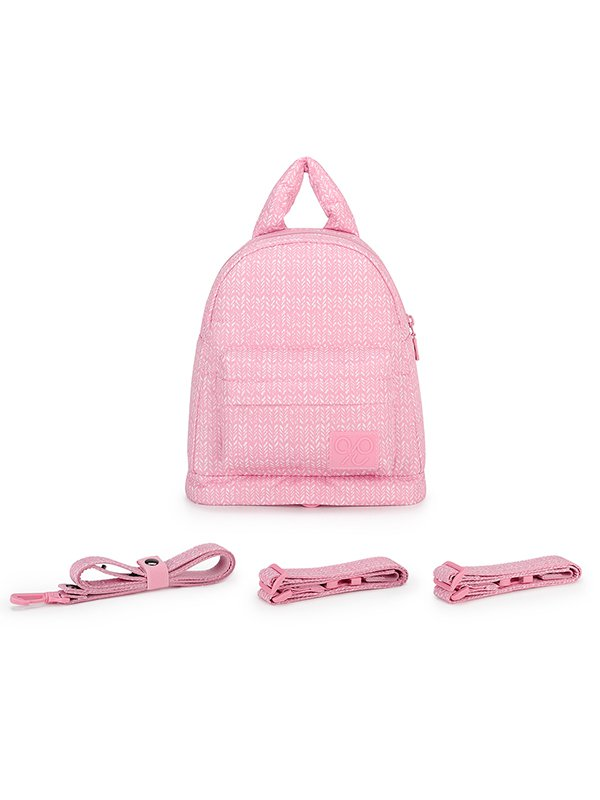 CIPU Airy Backpack Eco Knitted Rose XS - 2Way