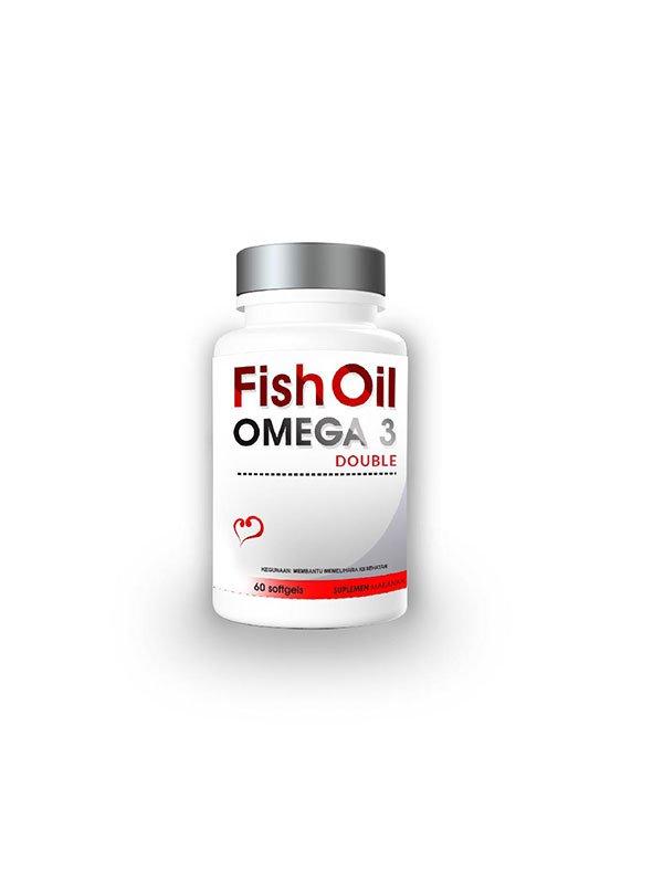 TREELAINS Fish Oil Omega 3 Double 1000mg 60 pcs