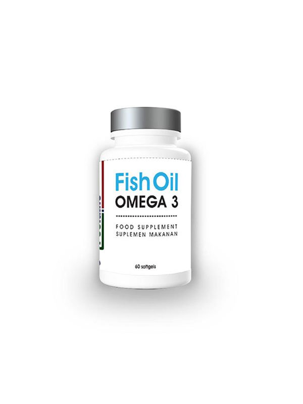 TREELAINS Fish Oil Omega 3 1000mg 60 pcs