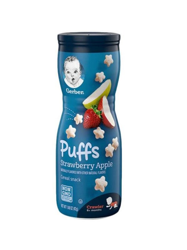 Gerber Graduate Puff Strawberry Apple
