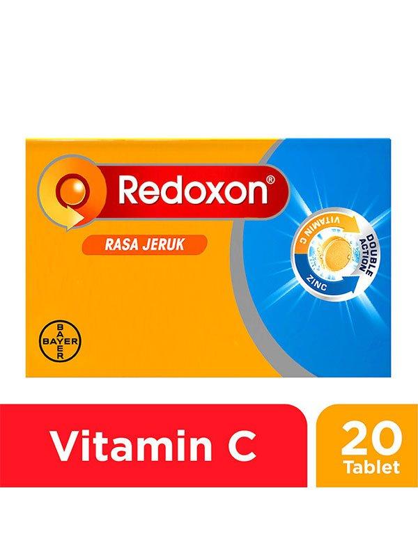 NEW REDOXON EFF Zinc Orange 20 Tablet