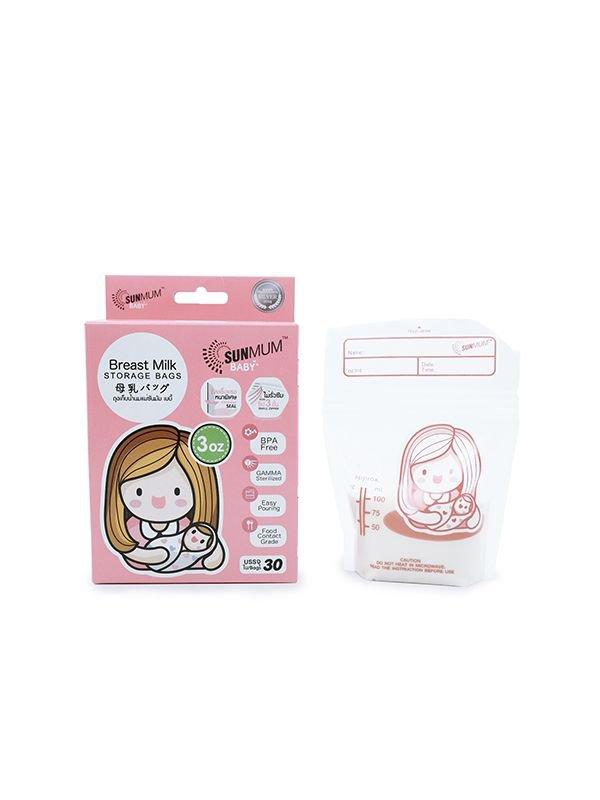 Sunmum Breastmilk Storage Bags Kantong ASI