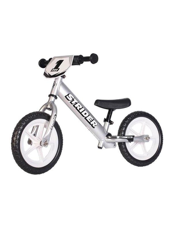 STRIDER BIKE 12 Pro Silver - Sepeda Anak