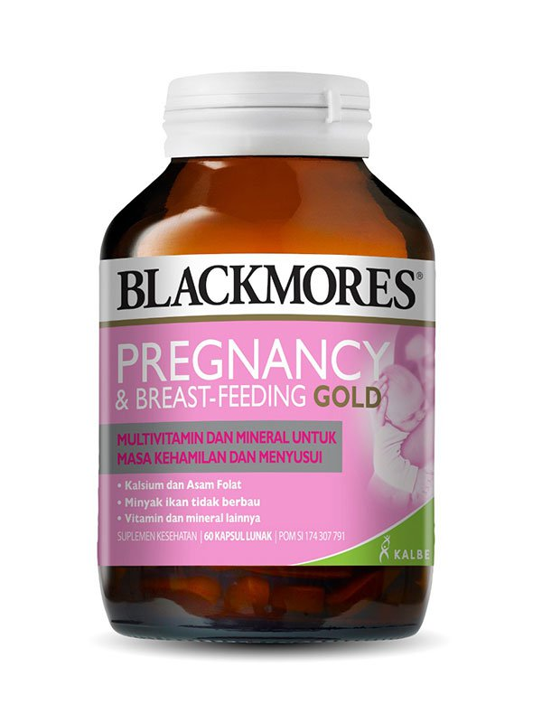 BLACKMORES Pregnancy & Breast-Feeding Gold isi 60 Caps