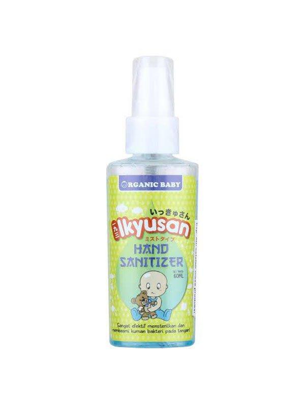 IKYUSAN Organic Baby Hand Sanitizer 60 ml