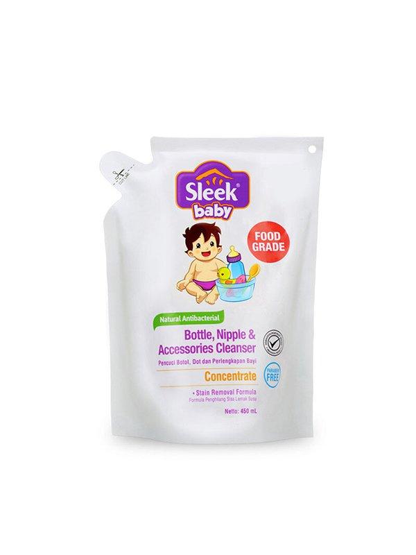 SLEEK Bottle Nipple & Baby Accessories Cleanser 450 ml
