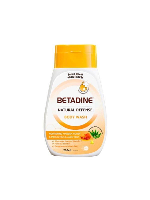BETADINE Body Wash Honey 200ml - Sabun Mandi Cair