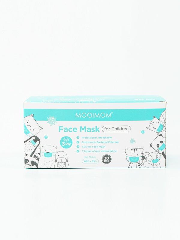 MOOIMOM Disposable Face Mask 30 Pcs - Masker Anak