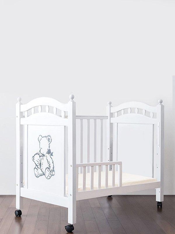 EQUI Baby Box 4 Way Brown Bear - Tempat Tidur Bayi