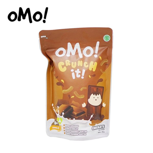 [OMO!] Crunch it Chocolate - Snack Sehat Bayi