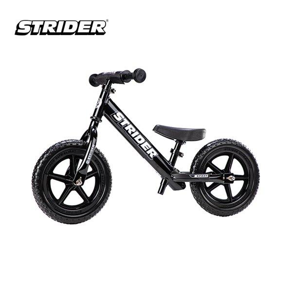 [STRIDER BIKE] 12 Sport Black - Sepeda Anak