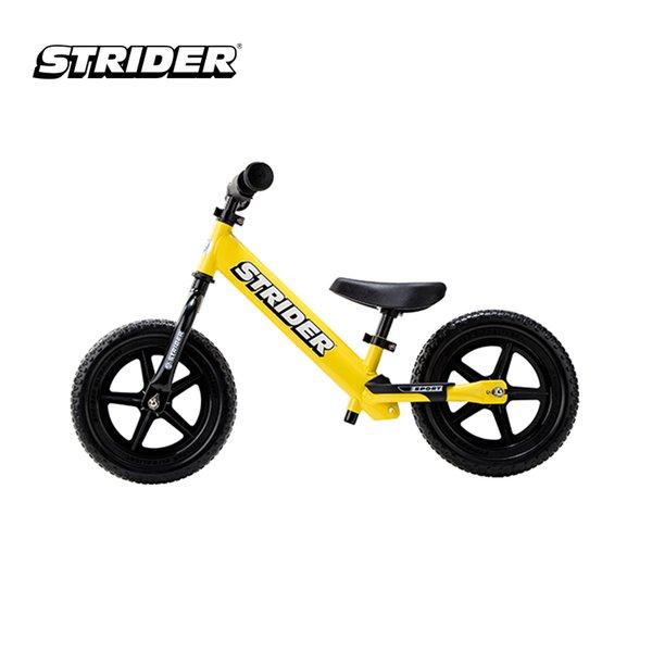 [STRIDER BIKE] 12 Sport Yellow - Sepeda Anak