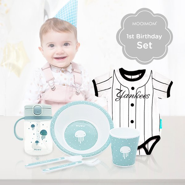 MOOIMOM First Baby Boy Birthday Gift A - Kado Ulang Tahun